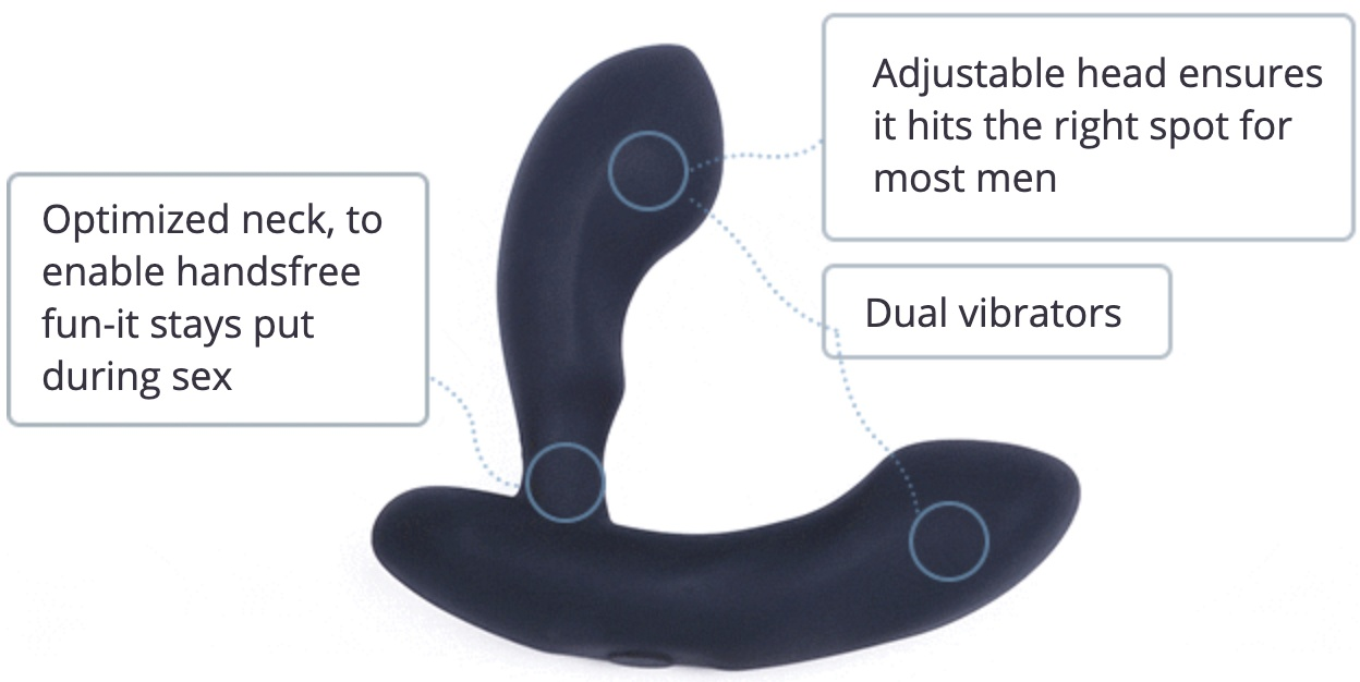 adjustable prostate massager