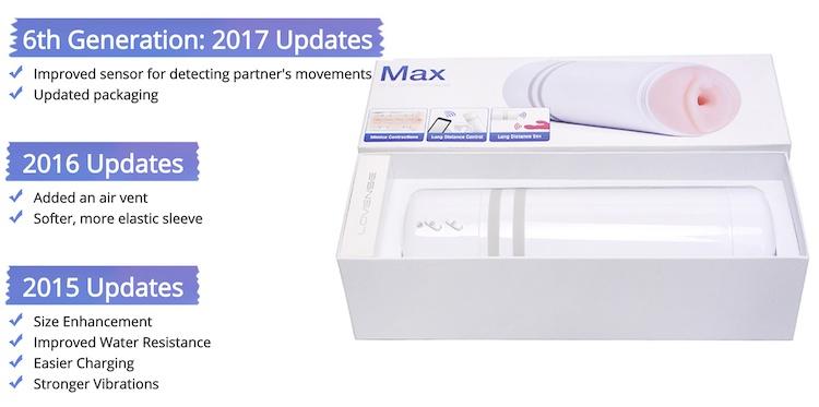 the new lovense max pocket pussy