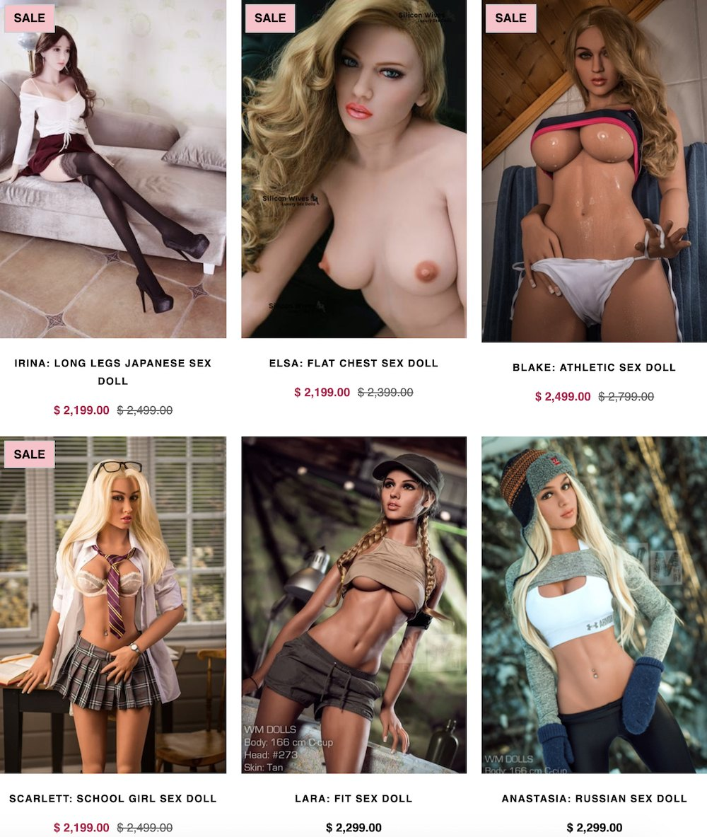 how much do luxury sex dolls cost