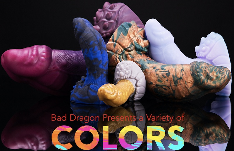 biggest dildos from bad dragon
