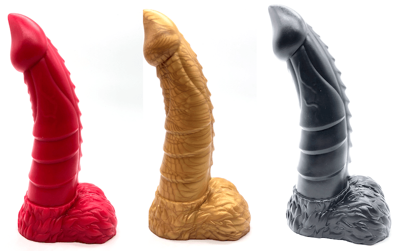 the demon geeky dildo