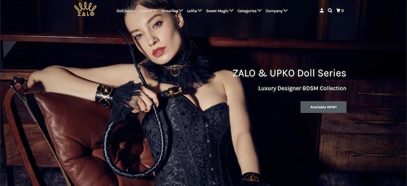 zalo luxury sex toys