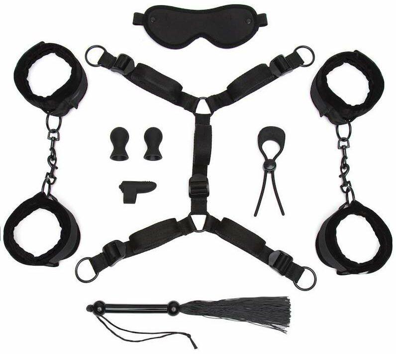 All Tied Up Bondage Play Kit