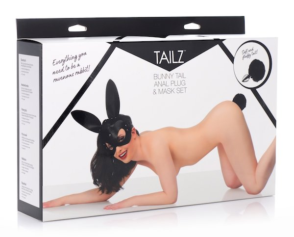 Tailz - Bunny Tail and Mask Set