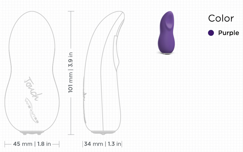 purple sex toy by wevibe