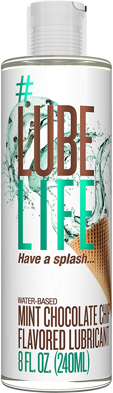 Lube Life - Mint Chocolate Chip Flavored Lube