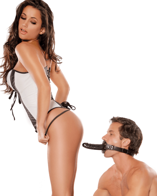 Pipedream - Fetish Fantasy Series - Deluxe Ball Gag with Dildo