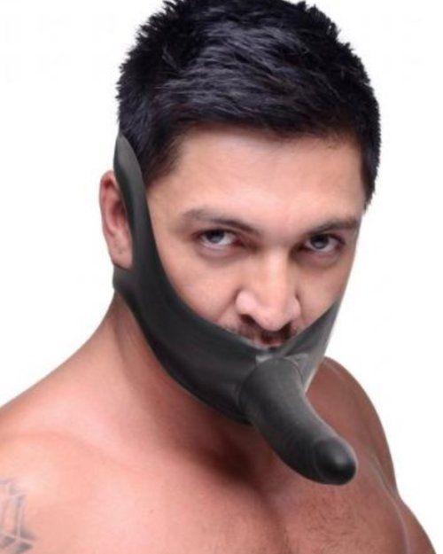 XR Brands - Master Series - Face FUK Strap-On Mouth Gag