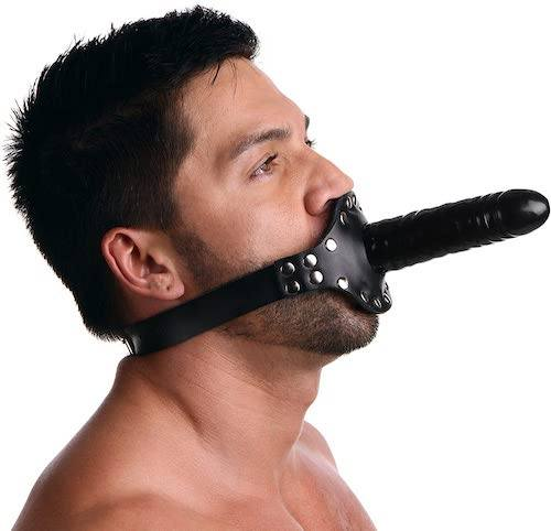 Strict Leather - Ride Me Mouth Gag with Dildo