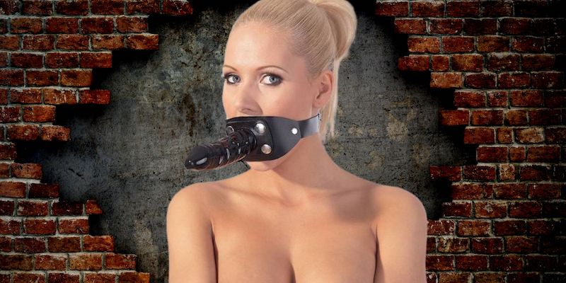 best dildo gag mask for bdsm